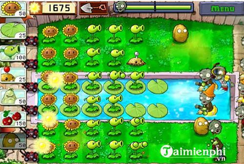 plants vs zombies cho ios