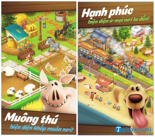 tải game nông trại vui vẻ online