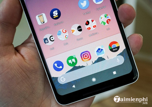 android p launcher cho android