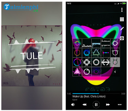 avee music player lite cho android