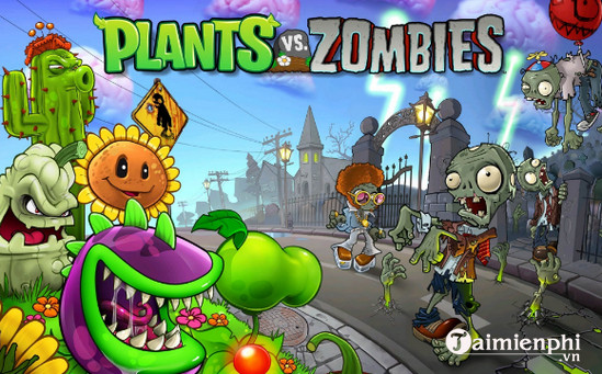plants vs zombies cho mac