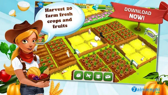 download game hay day tren may tinh