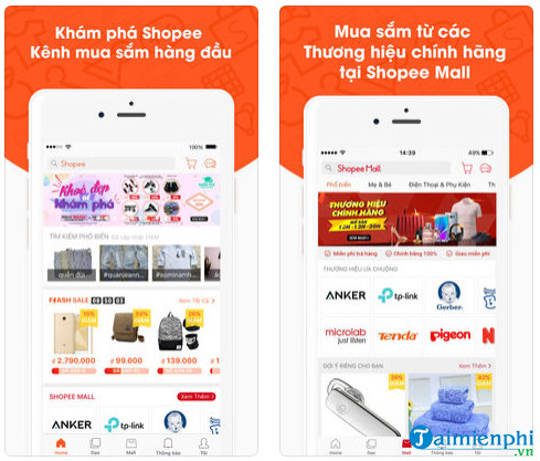 shopee cho iphone