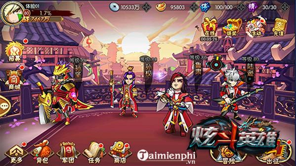 Download Bá Đạo 3Q - Game hành động kết hợp thẻ tướng cho điện thoại