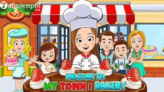 my town bakery cho android