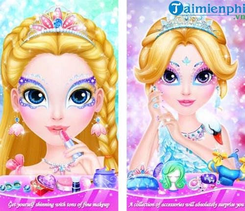 sweet princess makeup party