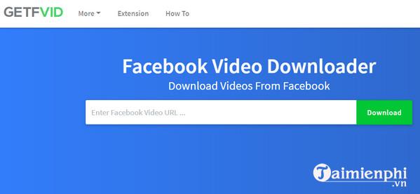 getfvid video downloader for facebook