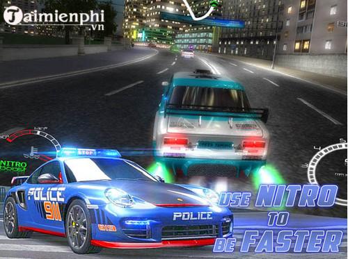 street racers vs police