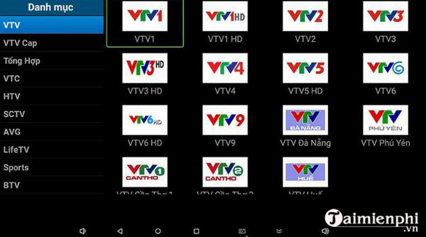 vtc mitv cho android