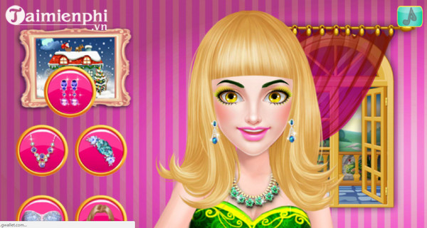 princess salon makeup