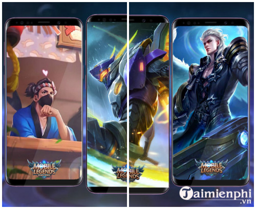 mobile legends slideshow live wallpaper