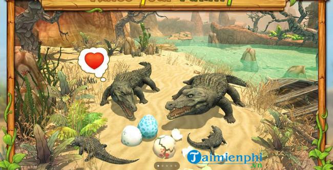crocodile family sim