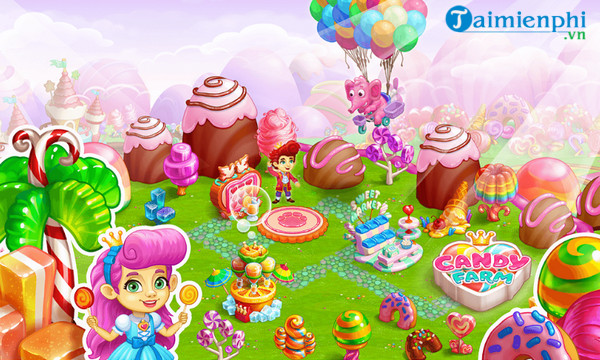 sweet candy farm