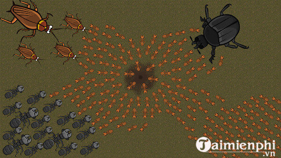 ant war simulator