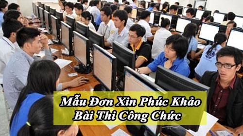 mau don xin phuc khao bai thi cong chuc