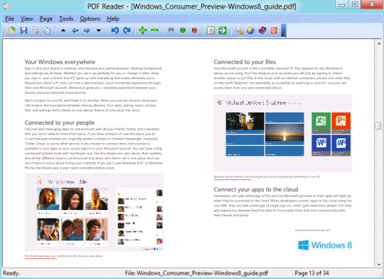 pdf reader for windows 8