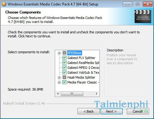 Windows Essentials Media Codec Pack