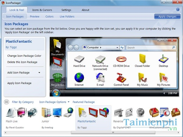download IconPackager