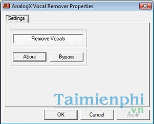 Vocal Remover