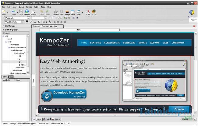 download kompoZer