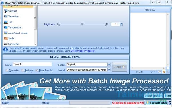 BinaryMark Batch Image Enhancer