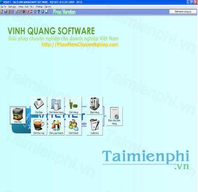 Phần mềm quản lý bán hàng VQFCAFE