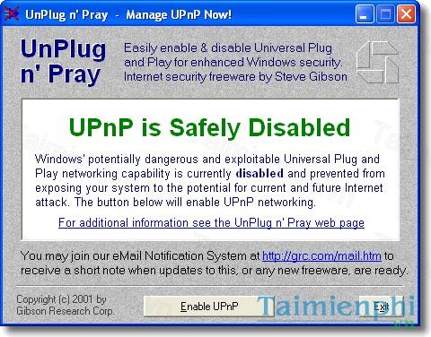 UnPlug n' Pray