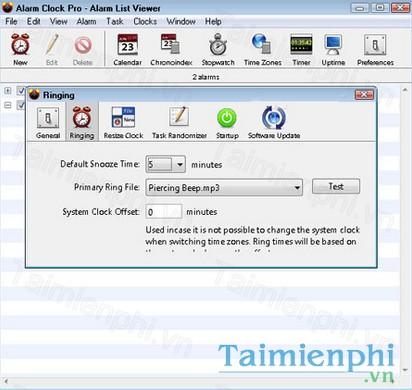 Alarm Clock Pro cho Mac