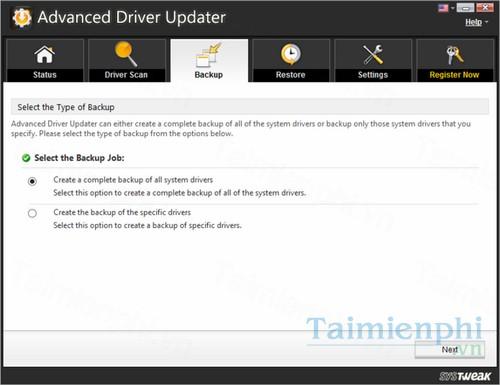 tai advanced driver updater