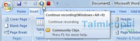 Microsoft Community Clips