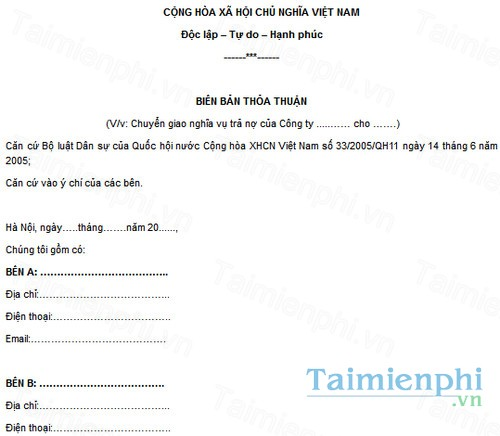 download bien ban thoa thuan