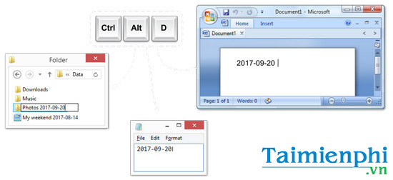 download date writer