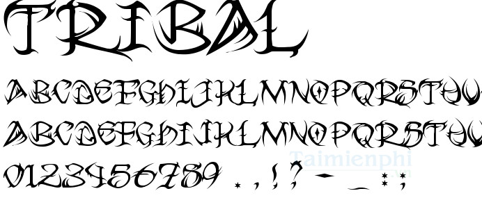 download fonts tattoo