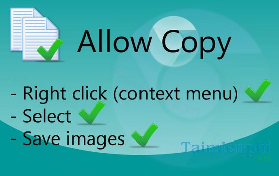 download allow copy