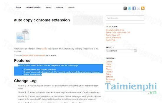 download auto copy cho google chrome