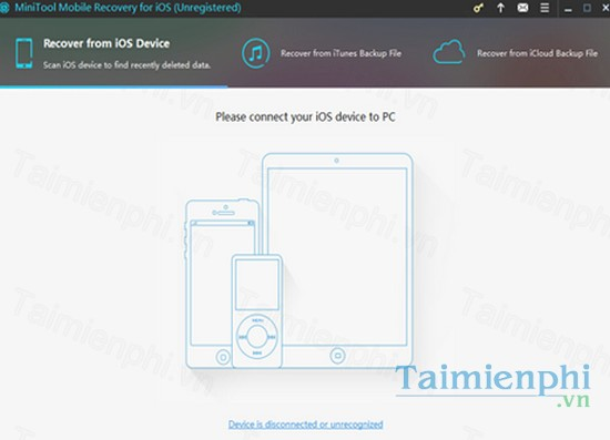 download minitool mobile recovery for ios cho mac