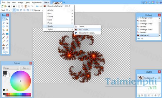 Paint - Download Paint Net 4 21 6589 7045, chỉnh sửa ảnh