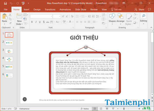 download slide powerpoint dep