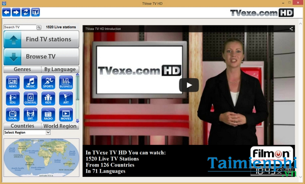 download tvexe tv hd