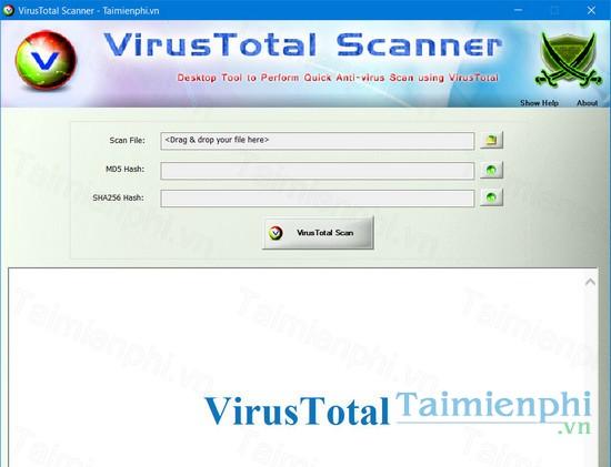 download virustotal scanner