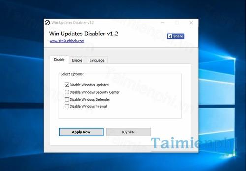 download win updates disabler