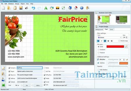 download business card maker