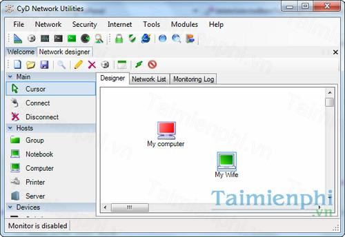 download cyd network utilitie
