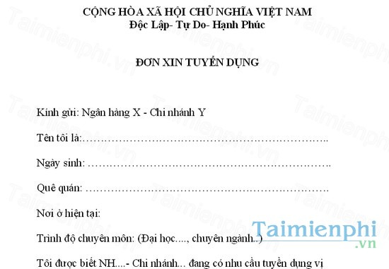 download don xin viec ngan hang