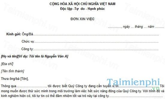 download don xin viec tieng viet