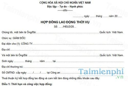 download hop dong lao dong ngan han