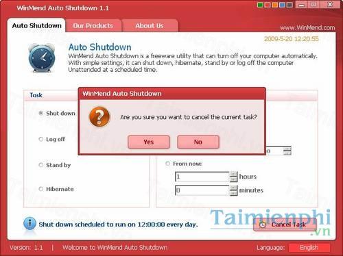 download winmend auto shutdown