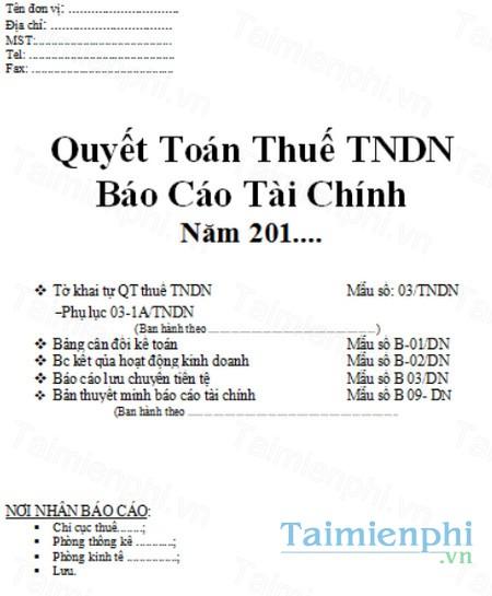download mau bia bao cao tai chinh