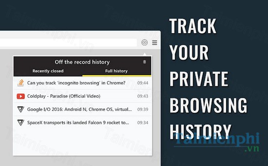 download off the record history