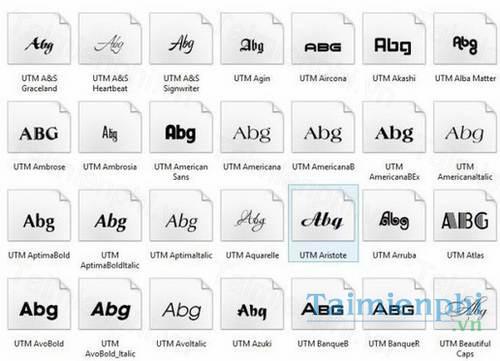 download font utm